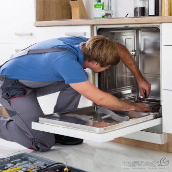 تعویض پمپ تخلیه ماشین ظرفشویی