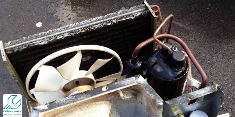فن کولر گازی پنجره ای